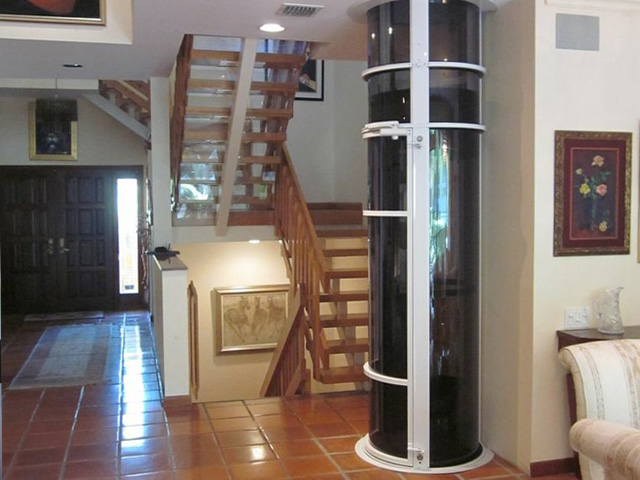 Home Elevators North Carolina Glass Enclosed Pneumatic